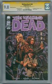 Walking Dead  #100 CGC 9.8  Signature Series Signed Berthal & Reedus 1st App Negan Image Comics